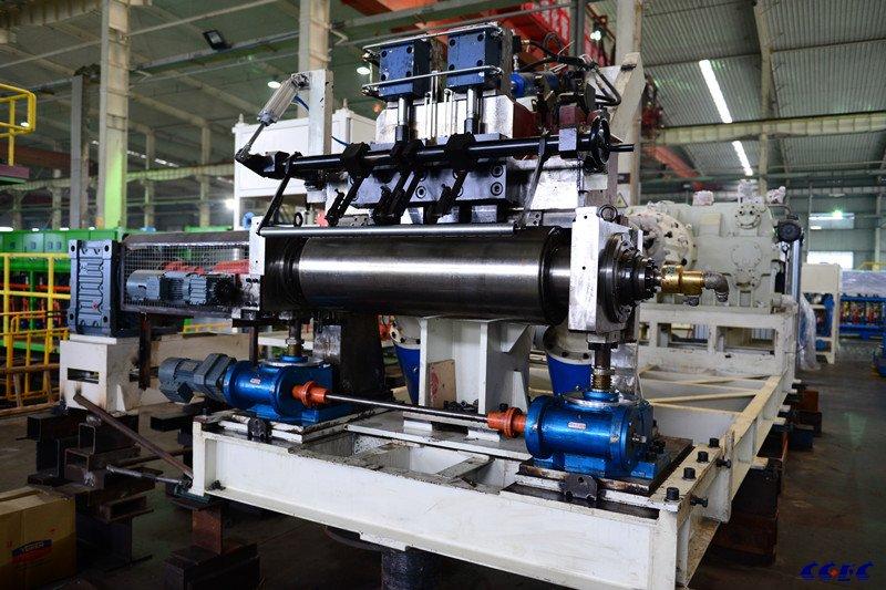 CGEC 单辊筒机头挤出生产线